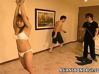 Hot Asian bondage..