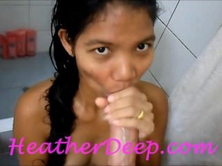 Heather Deep 1st Shower deep..