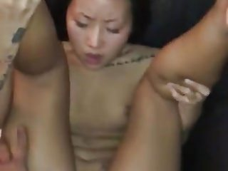 Tattooed Asian Orgasm and..