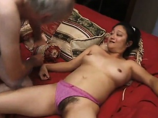 Hardcore with Asian young..
