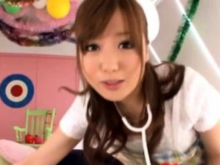 Aroused japanese girl gets..