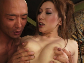 Erotic Asian sex ends in a..