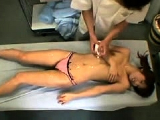 Massage Asian girl..