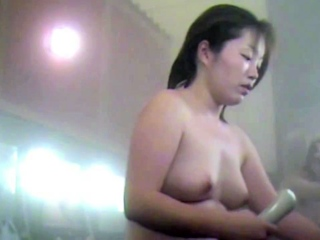 Hot Mom In The Bathhouse