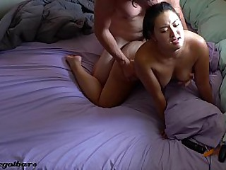 4k chinese girl gets woken..