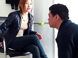 Chinese femdom gets her feet..