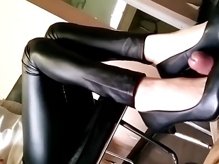 Chinese sexy femdom trample..