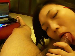 A Chinese couple's abode sex..