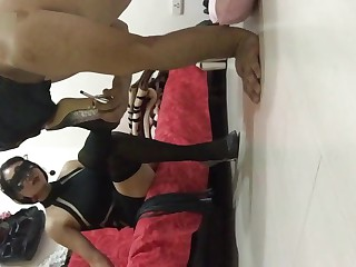 Chinese foot fetish bare..