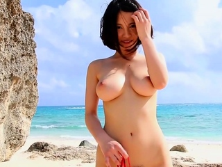 Nude beach striptease JAV..