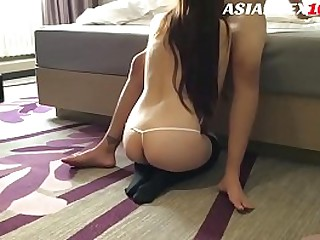 A homemade video with a hot..