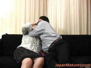 Mature real asian woman..