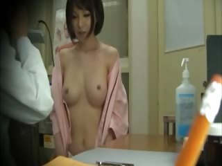 Horny asian gets tits..