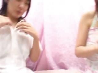 Japanese Girls Kneading